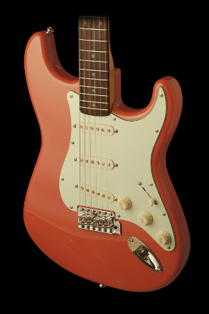 Rocketfire Fiesta Red Strat