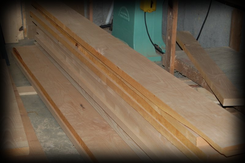 Several 10' Alder Boards